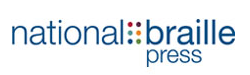 logo of the national braille press